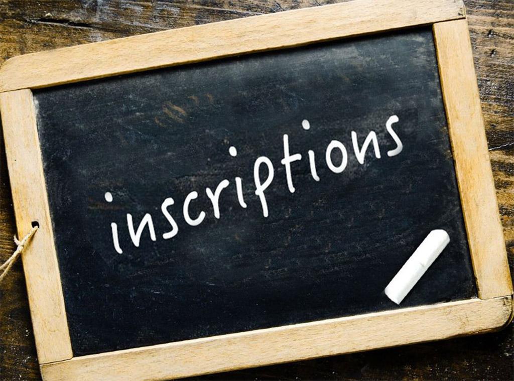 Les Inscriptions pour la Rentrée Scolaire 2020/2021 sont ouvertes! ICI