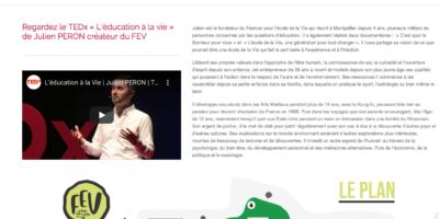 Notre école est référencée dans le réseau des écoles alternatives de Neo-bienêtre créé par Julien Peron